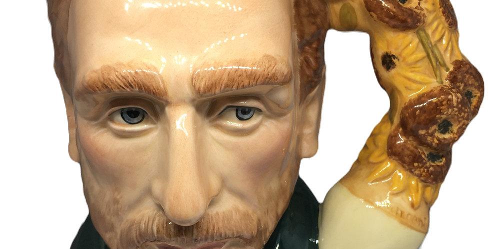 """*Rare* Royal Doulton Van Gogh Character Toby Jug Large 7"""" D7151"""