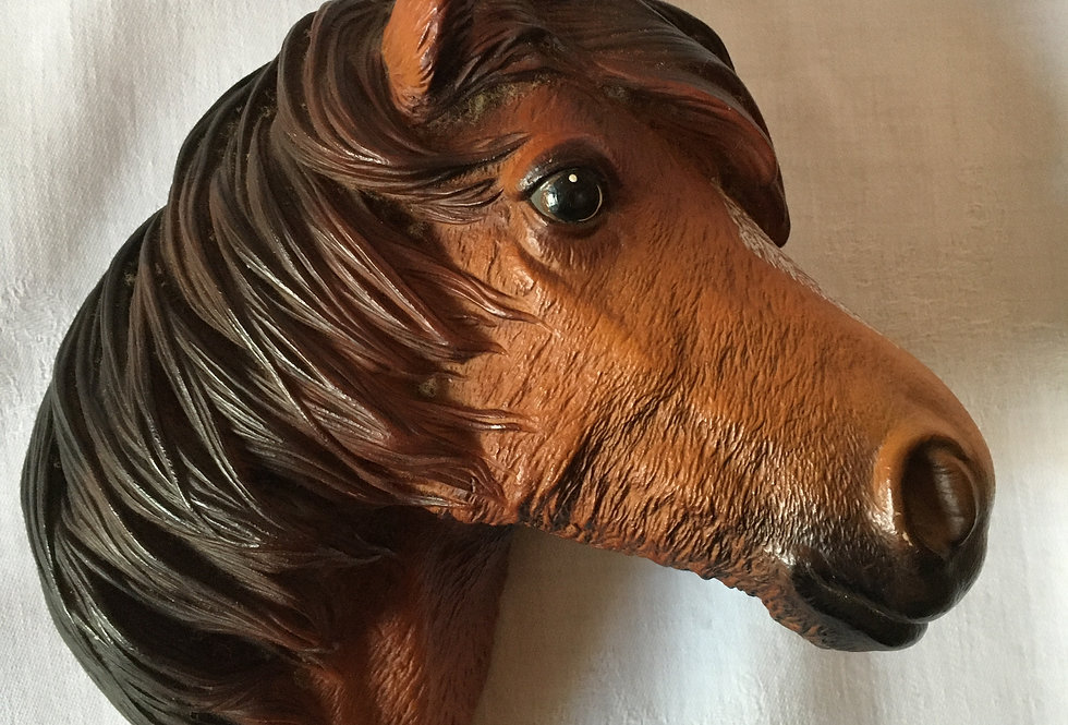 Vintage Bossons Fraser Art Figure Brown Horse