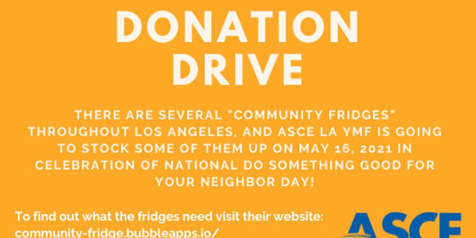 LA Community Fridge Food Donation Drive