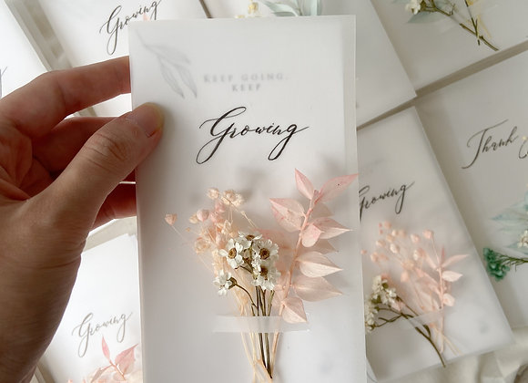 Keep Growing Card