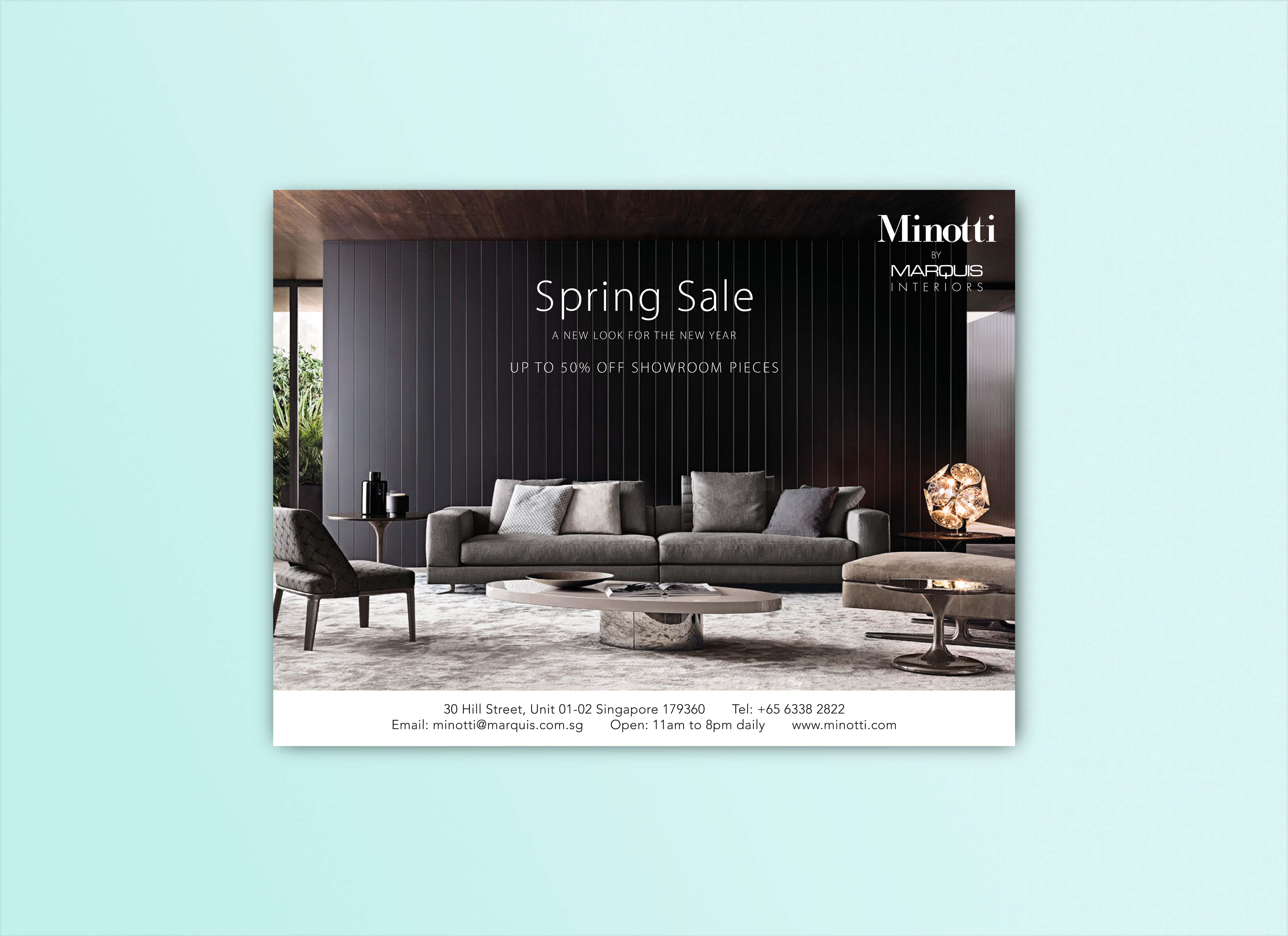 Minotti Advertisement