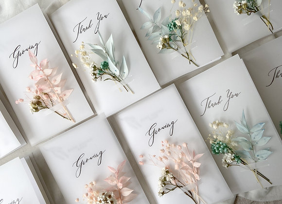 Handcrafted Custom Cards (Set of 5)