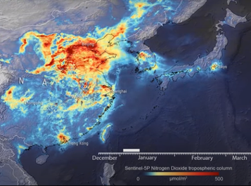 Impacts of COVID-19 as Seen Using Big Data from Space