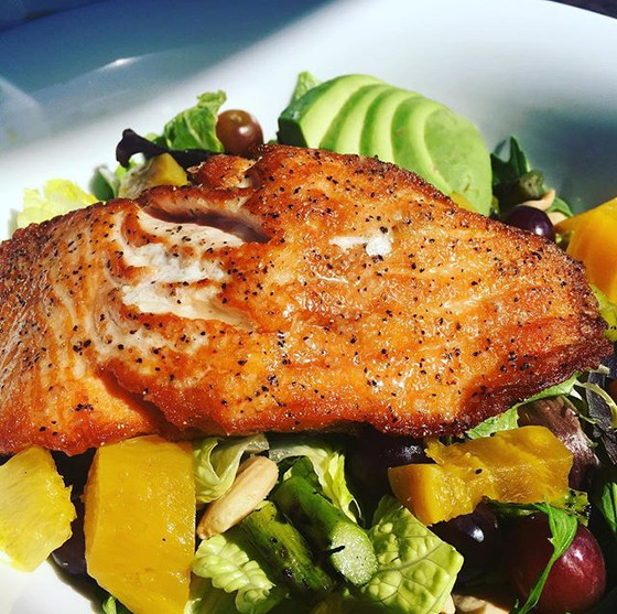 Super Spring Salmon Salad
