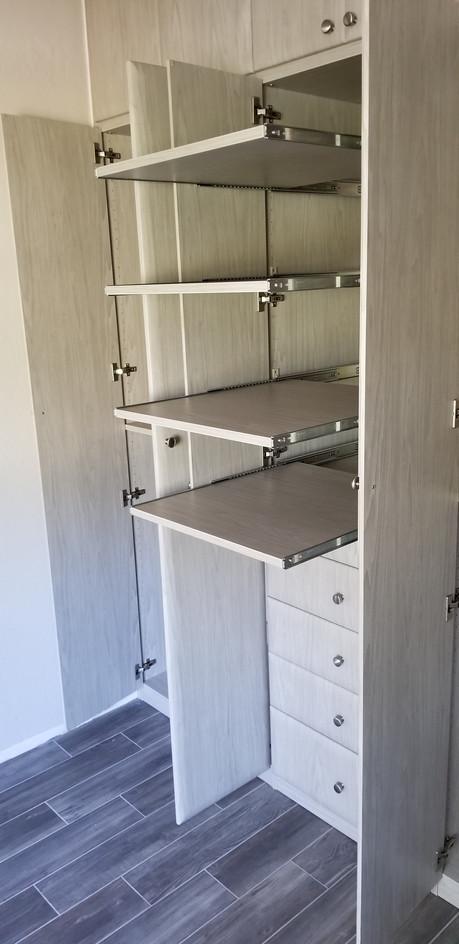 Multiple Pull-Out Shelves