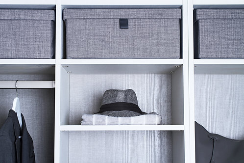 Box Fabric Gray