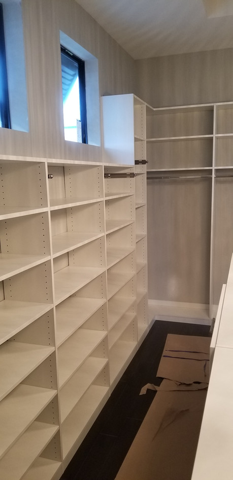 Closet Two Heights