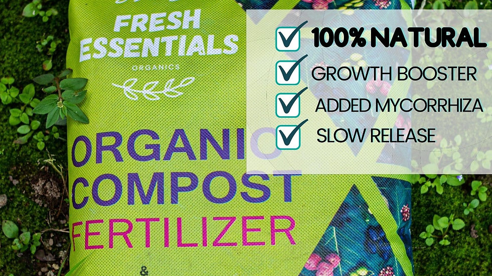 Organic Fertilizer Made by earth worms