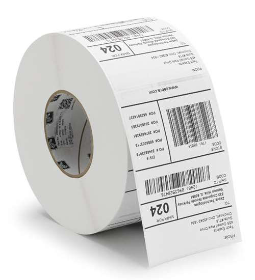 Preprinted Direct Thermal Labels