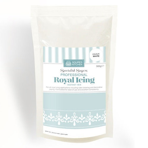 Royal Icing Instant Mix - White - 500g Squires Kitchen