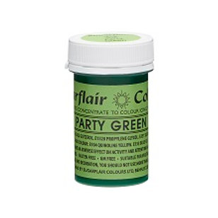 Sugarflair Spectral Food Colouring Paste - Party Green - 25g