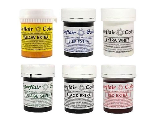 Sugarflair Spectral Food Colouring Paste - 42g