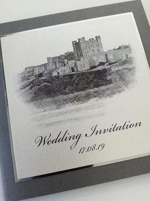 Bambury Wedding Invitation - Set of 5
