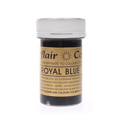 Sugarflair Spectral Food Colouring Paste - Royal Blue - 25g
