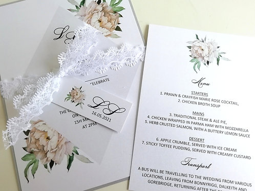 Guests Names Printed Into Your Invitations
