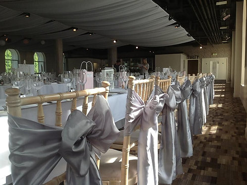 60 Chair Covers and Sash Hire - Includes deposit