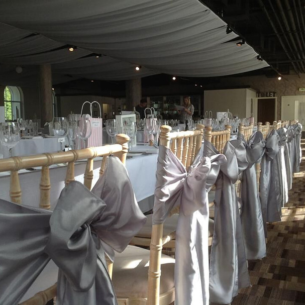 Chair Covers & Sash Hire