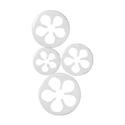 Rose Cutters - 4 Piece - Cake Star