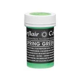Spring Green, Food Colouring Paste, Sugarflair Pastel Paste 25g