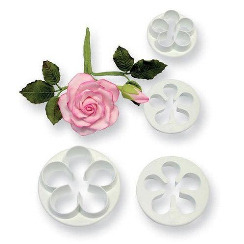 5 Petal / Rose Cutters - Set 4 - PME