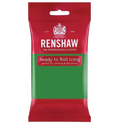 Lincoln Green Ready To Roll Icing, Fondant - Renshaw 250gms