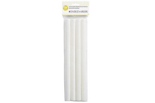 """Wilton Hollow Plastic Dowel Rods - 31.8 (12.5"""") cm Long"""