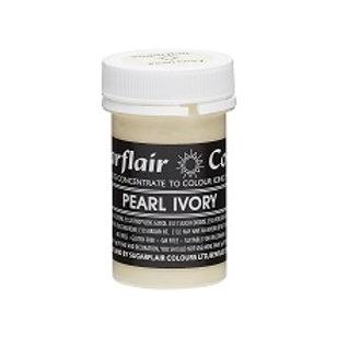 Pearl Ivory - Sugarflair Pastel Paste 25g