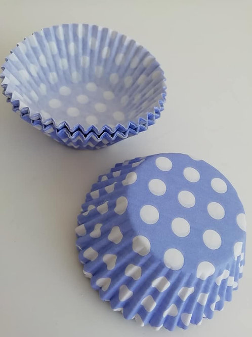 504 Blue and White Baking Cases - two designs