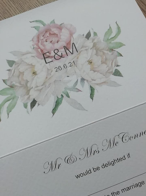 Emily Trifold Invitation - set of 5