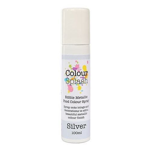 Silver Lustre Spray - 100ml Colour Splash