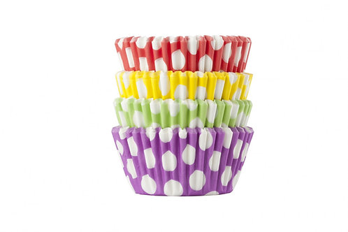 Spotty Dots Premium Baking / Muffin Cases - Pack of 100 Cases