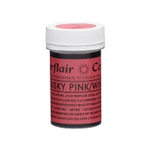 Sugarflair Spectral Food Colouring Paste - Dusky Pink . Wine - 25g