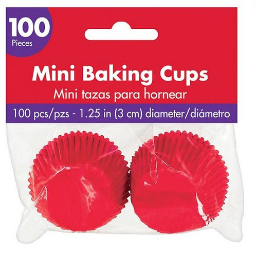 Mini Baking Cases - Amscan - 100 Cases