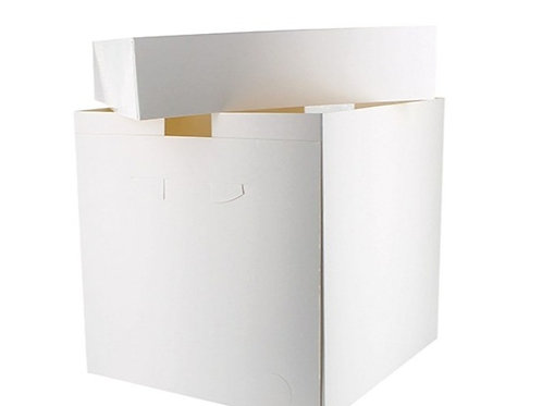 "10"" Cake Boxes - Tall - Single"