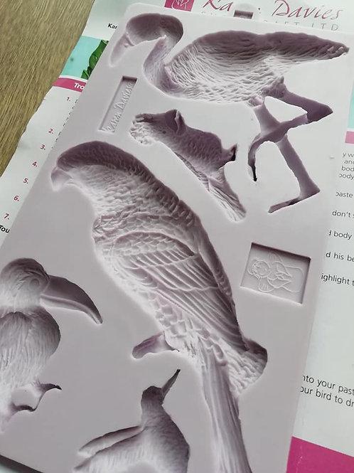 Karen Davies Tropical Bird Mould