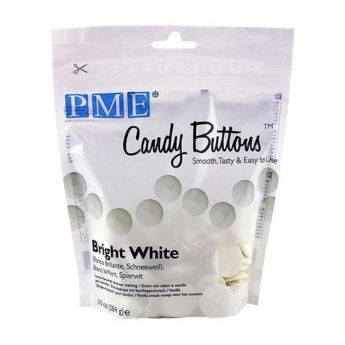 PME Candy Buttons Vanilla Bright White 284g - BB April 22