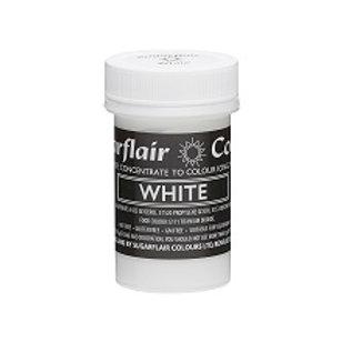 White Food Colouring Paste, Sugarflair Pastel Paste 25g