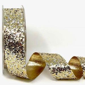 Gold, Silver & Glitter Ribbon
