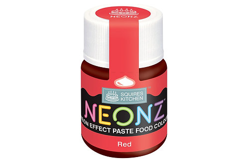 Squires Kitchen NEONZ Paste Food Colour Red 20g