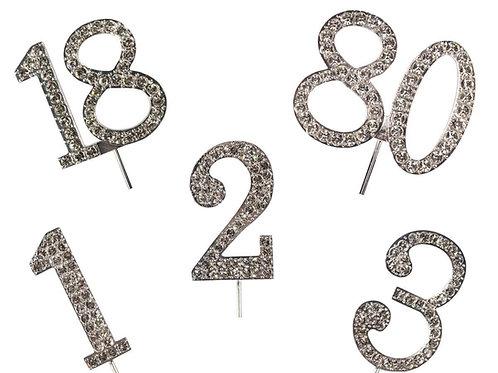 Diamante Numbers - Cake Star