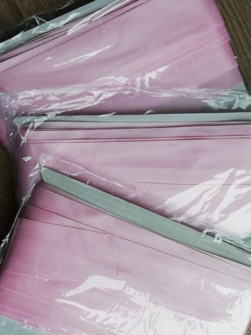 10 Meters of Pink Ribbon - 38mm - Carded