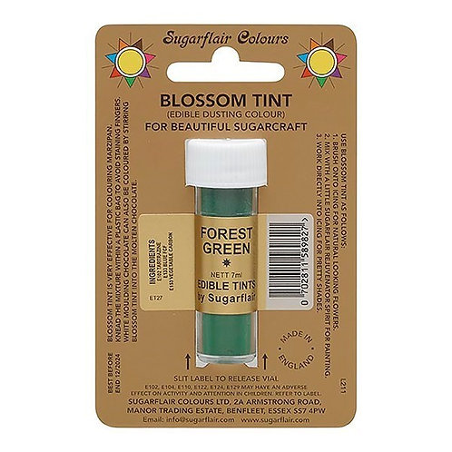 Sugarflair Edible Blossom Tint Colour - Forrest Green 7ml