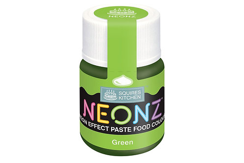 Squires Kitchen NEONZ Paste Food Colour Green 20g