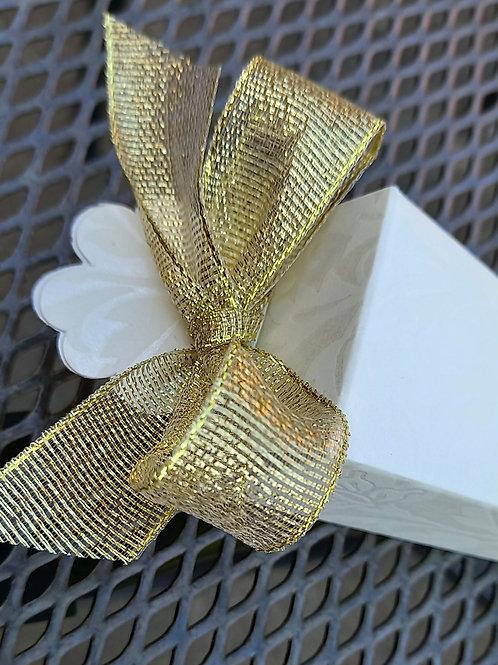 Cone Box, Diamanté Pattern - Pack of 10