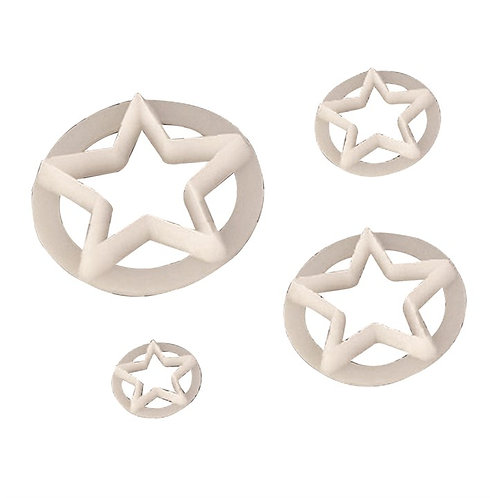 Star Cutters - Set of 4 -  FMM Cutters
