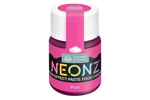 Squires Kitchen NEONZ Paste Food Colour Pink 20g