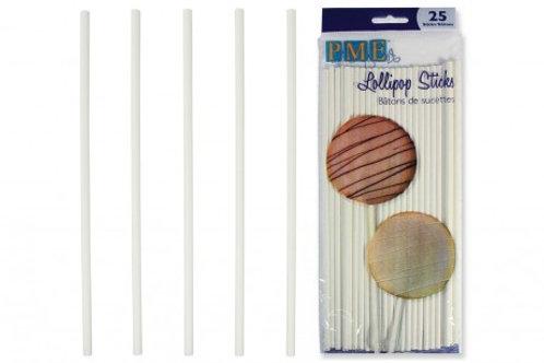 Lollipop Sticks, 20cm, PME - Pack of 25