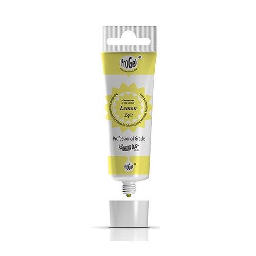 Rainbow Dust ProGel® Concentrated Food Colour Lemon 25g