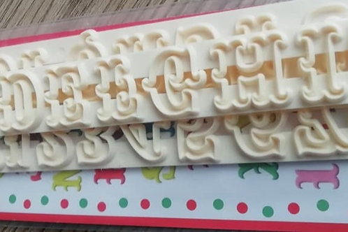Carnival Alphabet and Numbers Set - FMM - Uppercase Letters and Numbers