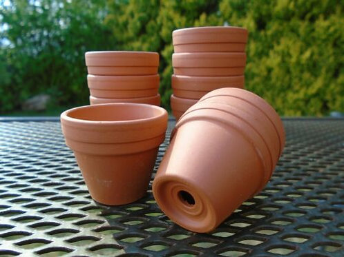 Mini Terracotta  Flower Pots